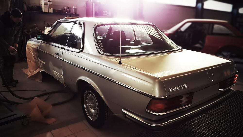 Mercedes Restauration Automobile 5